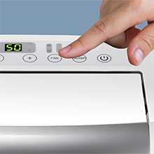 Feather Touch Electronic Panel
